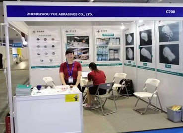 Zhengzhou Yue Abrasives Co., Ltd. takes part in the Shanghai Hardware fair on August,2020